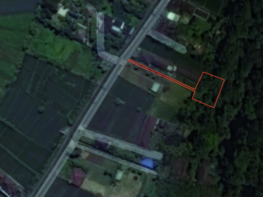 Unique freehold land with forestry river views