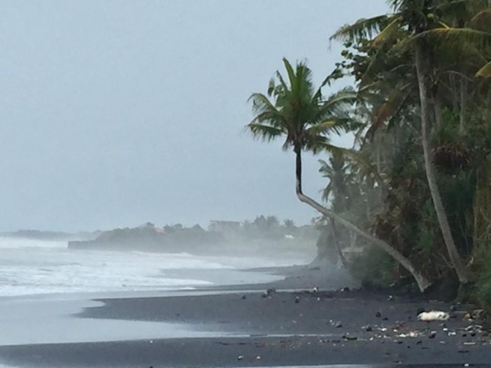 Tanah pinggir pantai yang sangat menakjubkan