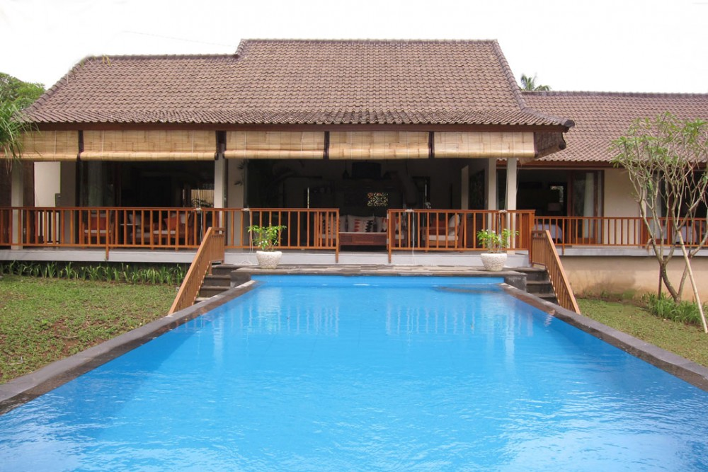 Beautiful 3 bedroom Villa with  River Valley View in Lodtunduh Ubud.