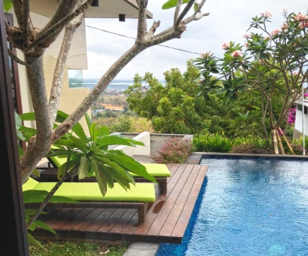 Great 4 Bedroom Freehold Ocean View Real Estate For Sale in Nusa Dua
