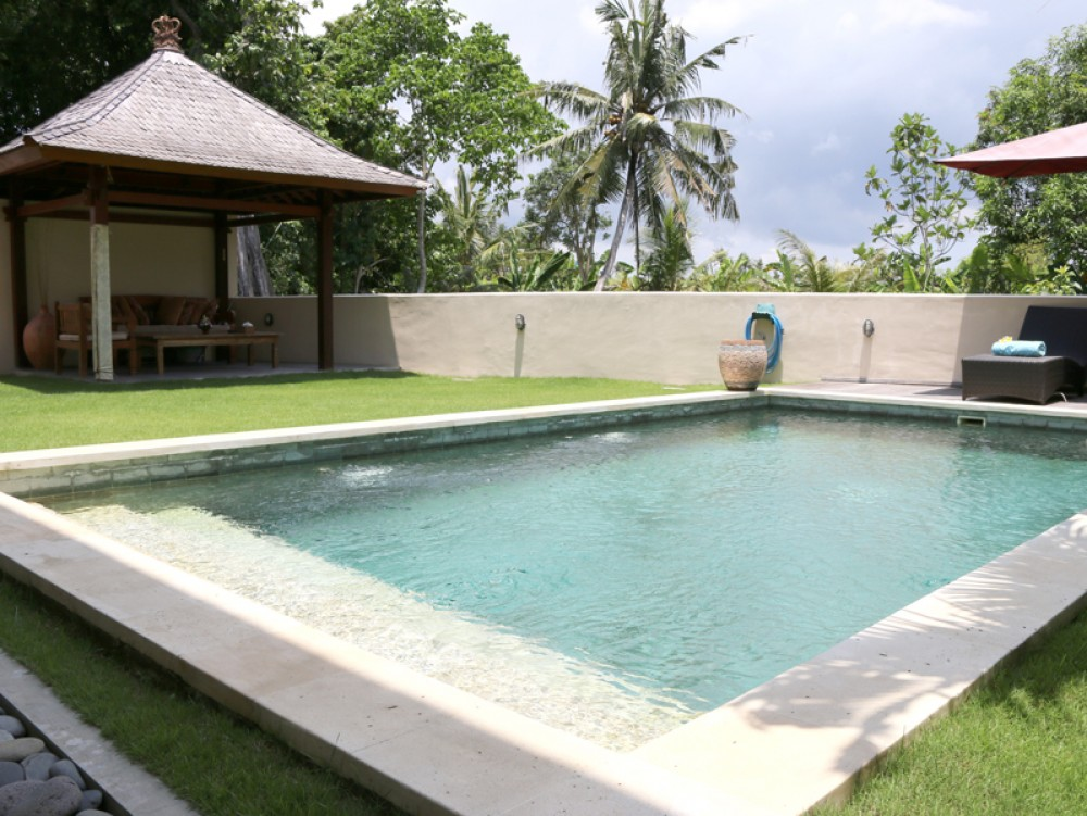 Tranquil modern freehold two-bedroom villa