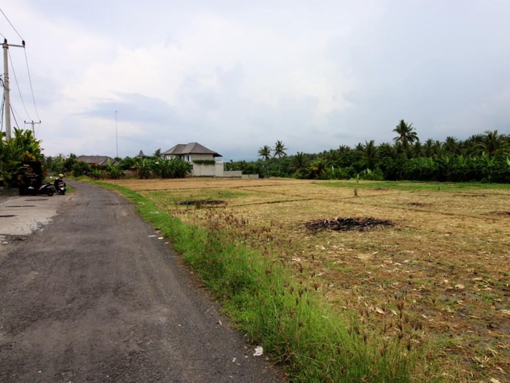 Tanah pinggir sungai hak milik