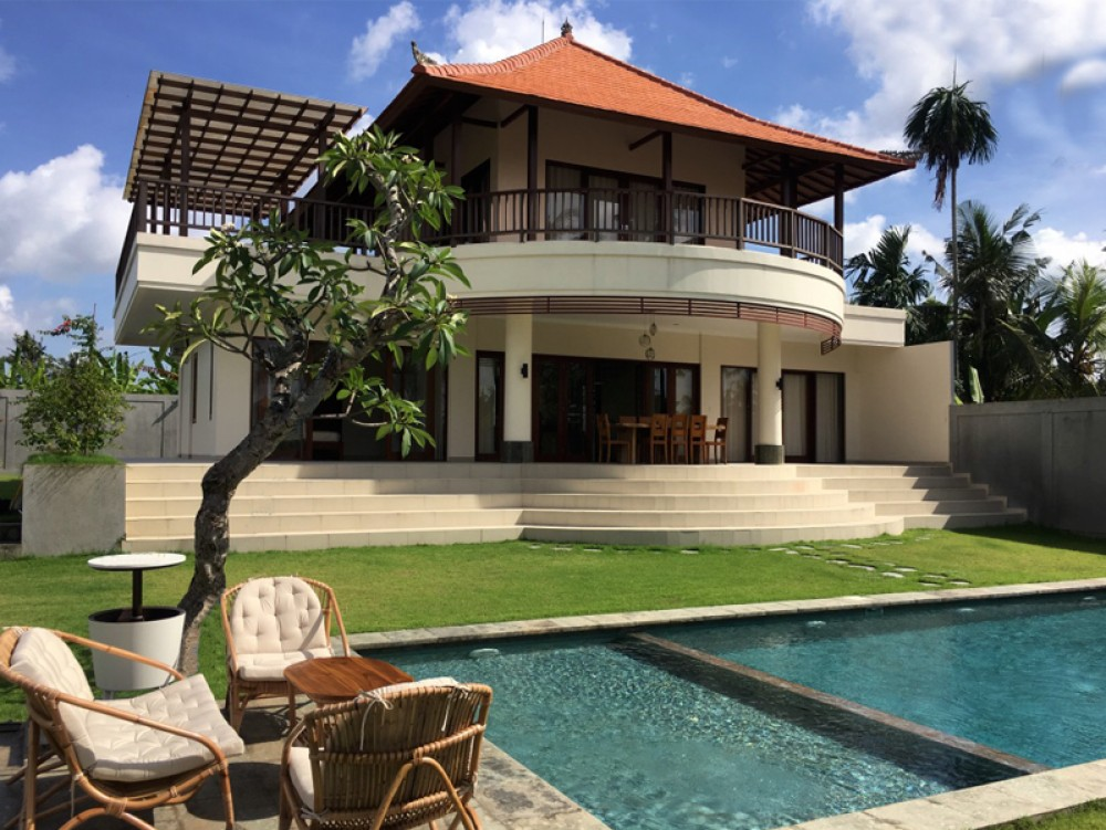 Freehold 3 Bedroom Villa With Rice Field View Kibarer Property