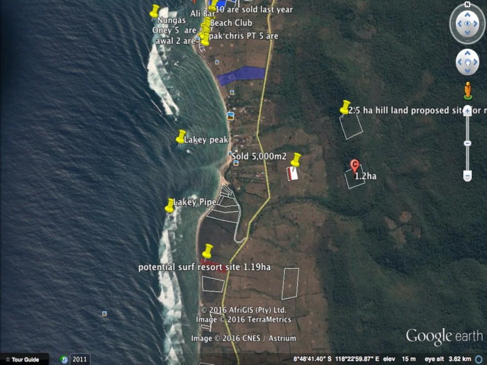 Sumbawa Beachfront 1.19 Hectare Development For Sale