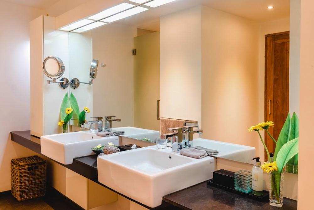 beautiful luxury four bedroom villa in quiet area of canggu