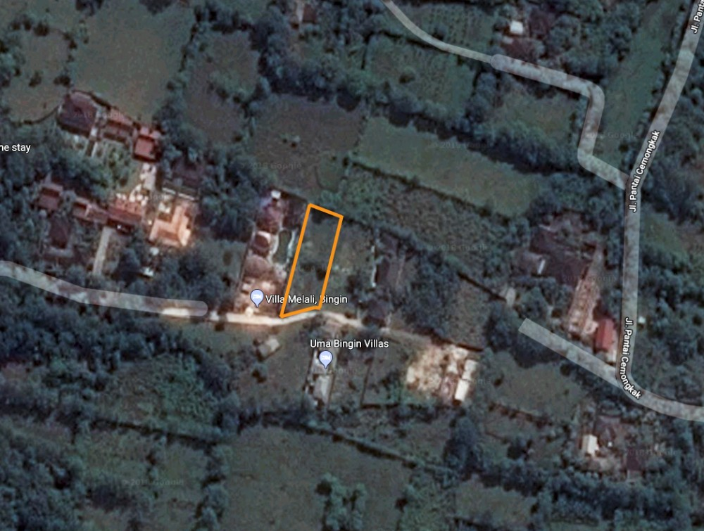 Well located freehold plot for sale in Bingin area