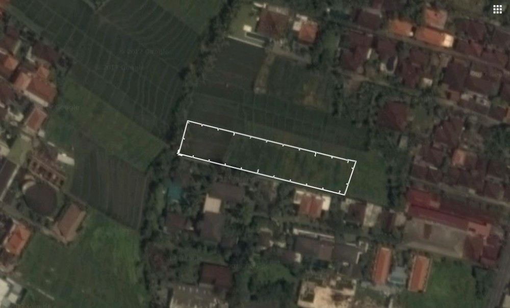 leasehold land perfect for villa development in canggu