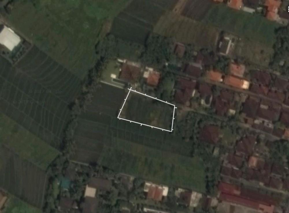 perfect size leasehold land near canggu beach