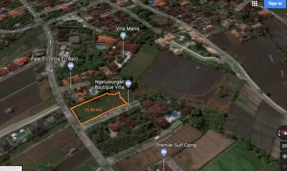 Prime location freehold land