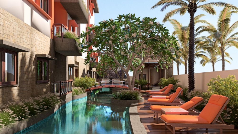 Best Studio Apartment with Rental Guarantee for Sale in Sanur