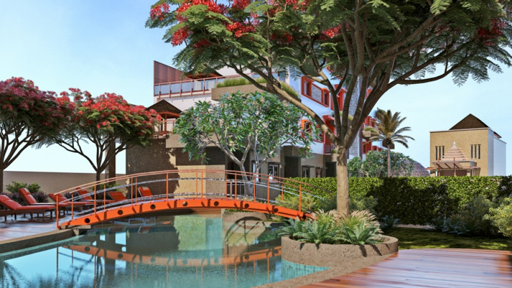 Two Bedrooms Guarantee Apartments for Sale in Sanur