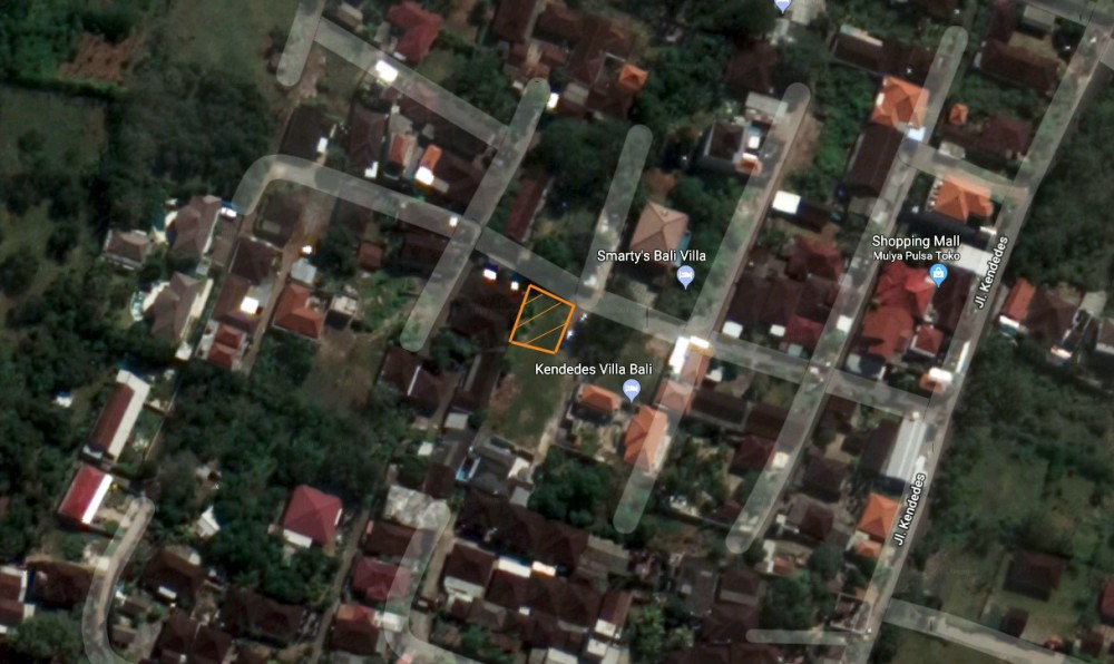 Freehold land for sale in Ungasan