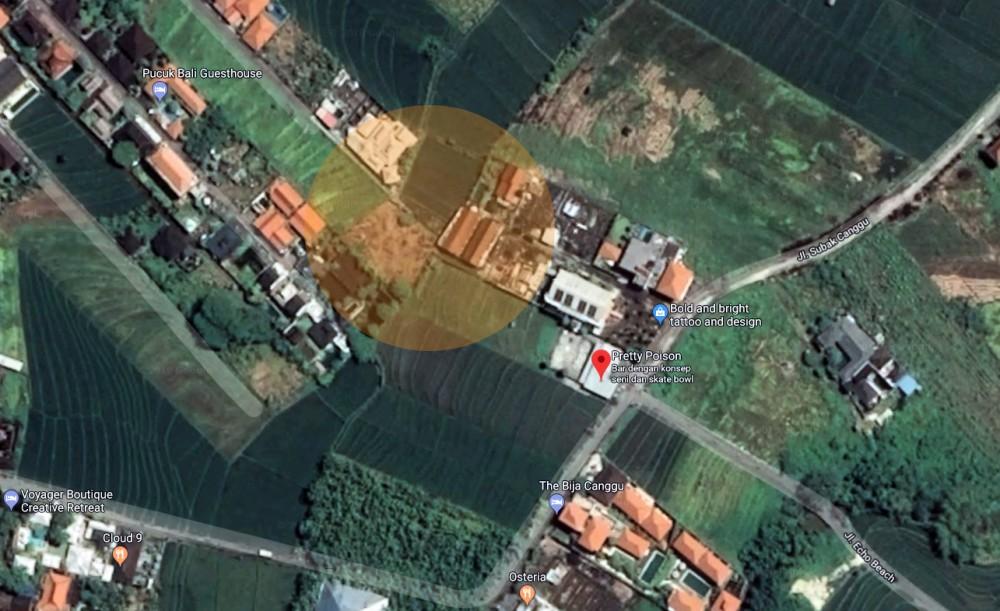 Tanah freehold Langka Dijual di Lokasi Sempurna Canggu