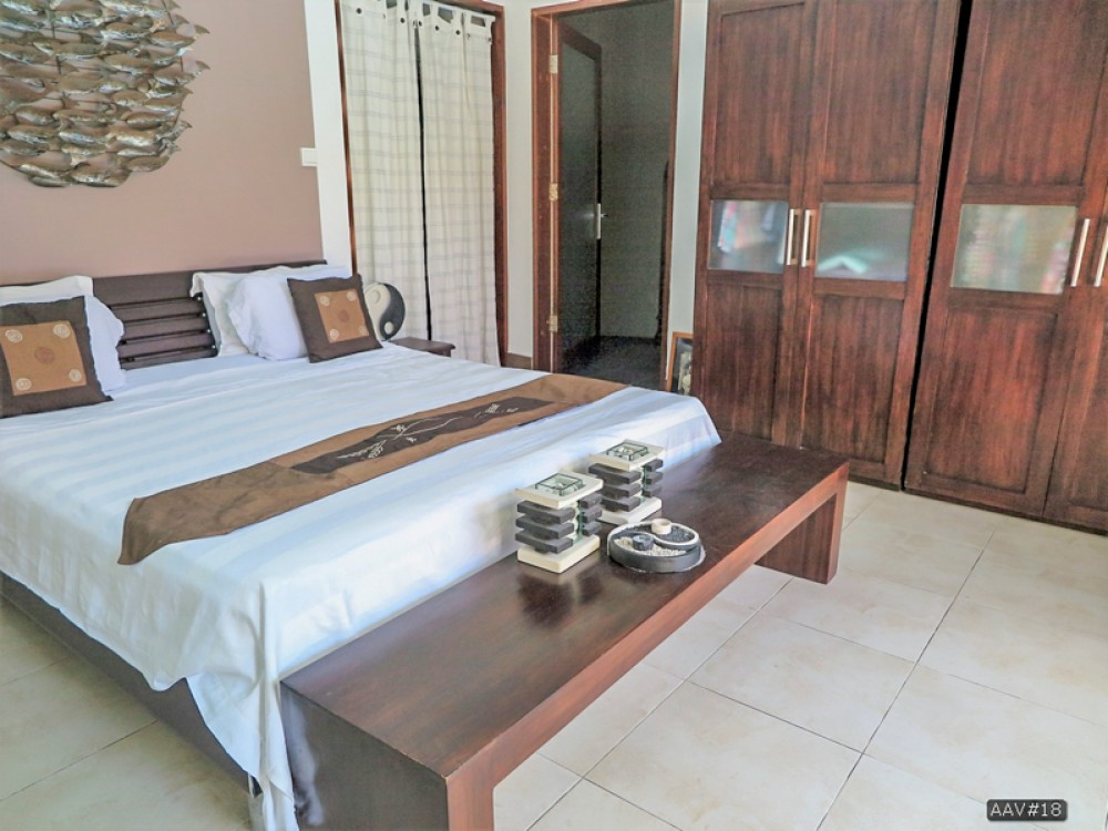 Beautiful semi level villa with pool for sale in Sanur