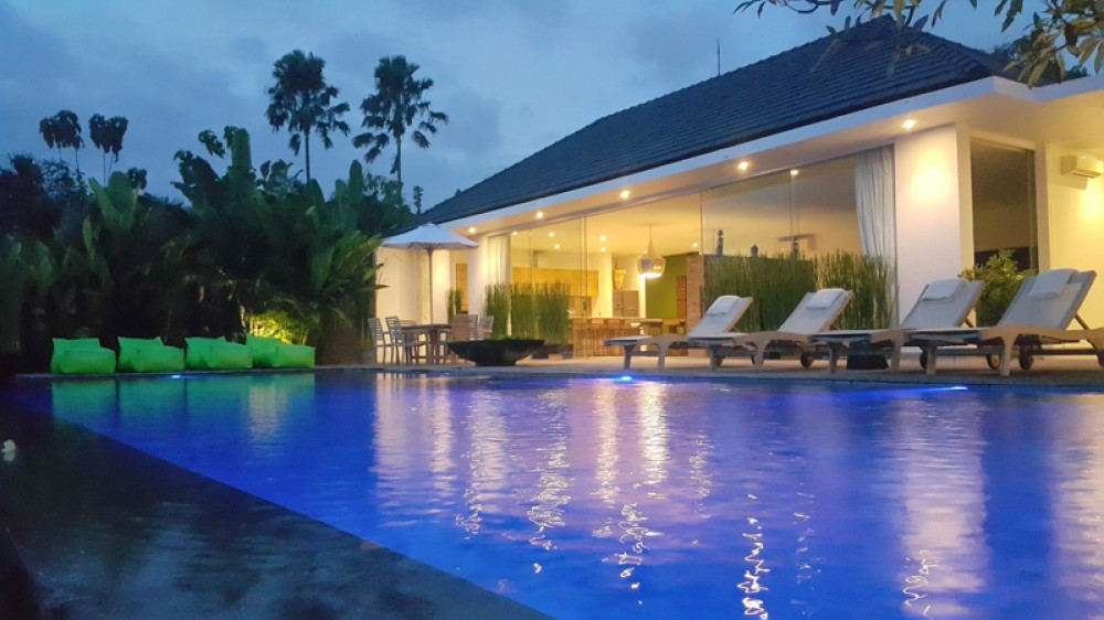 Luxury Property with Endless RIce Field View For Sale in Canggu