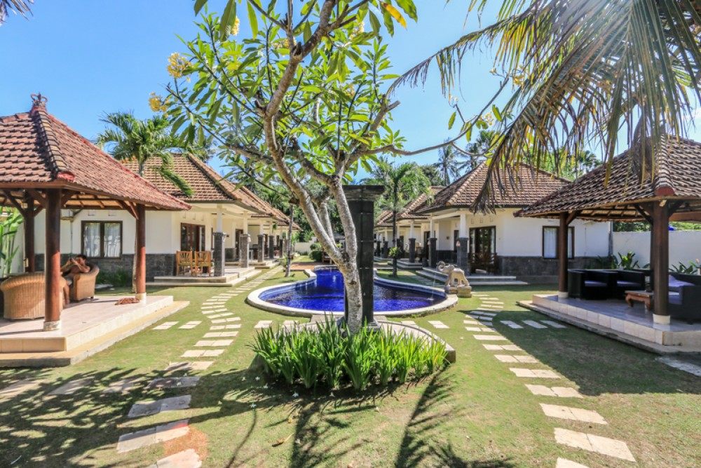 Amazing Cottages With Ocean View for Sale in Gianyar