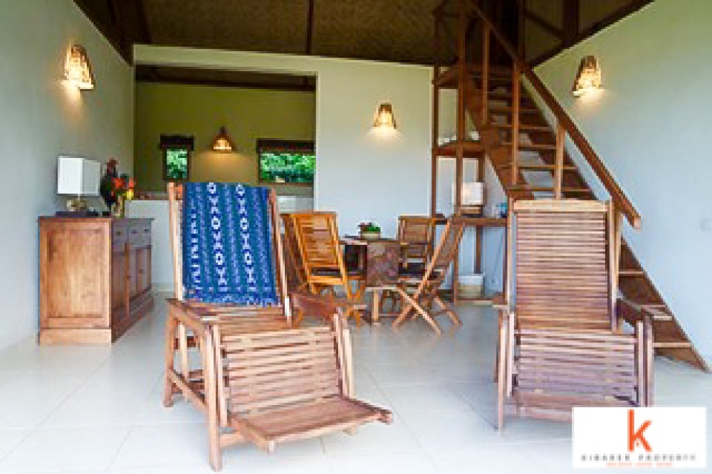 Three Bedroom Ocean VIew Villa for Sale in Padang Bai