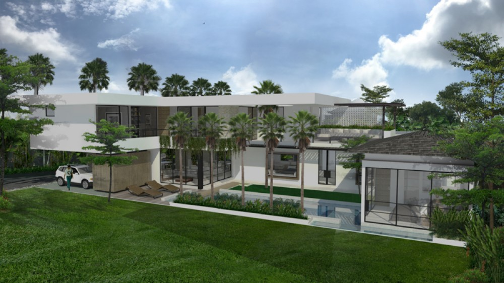 Modern Minimalist Freehold Villa Project for Sale in Canggu