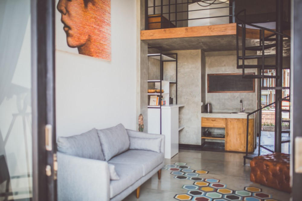 Beautiful two bedrooms apartment for sale in prime location of Seminyak