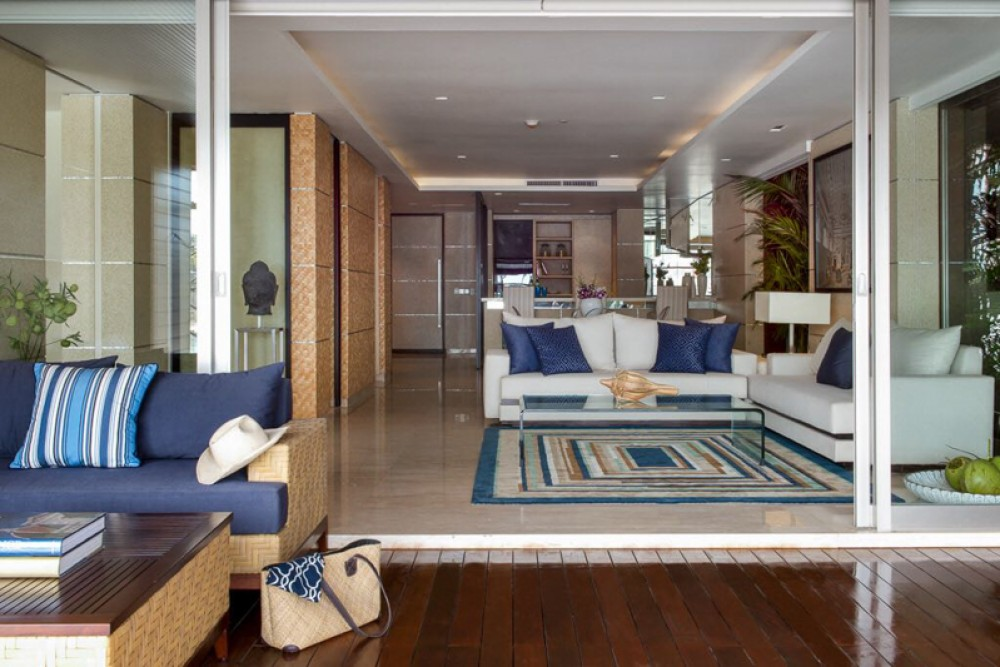 Luxurious Beachfront One Bedroom Apartment for Sale in Canggu