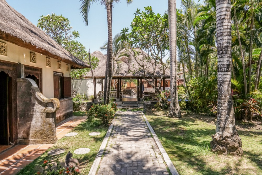 Beautiful Land with Bungalow for sale in Sanur