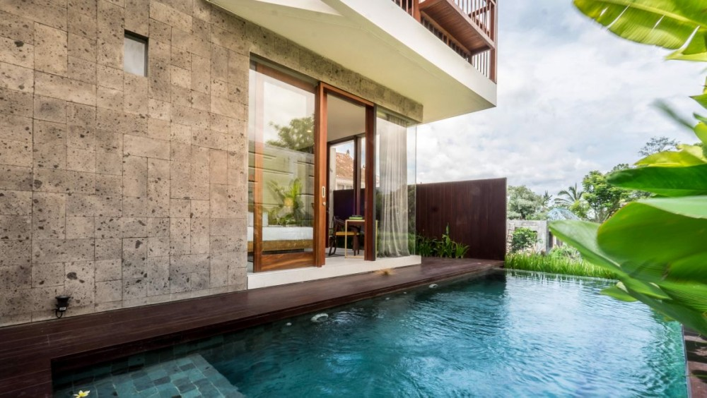 Off Plan villa with Modrent style only 4 km from Ubud center