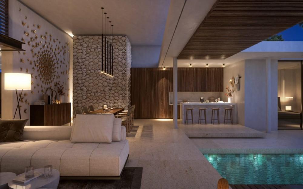 Brand New Modern Project Villa for Sale in Berawa