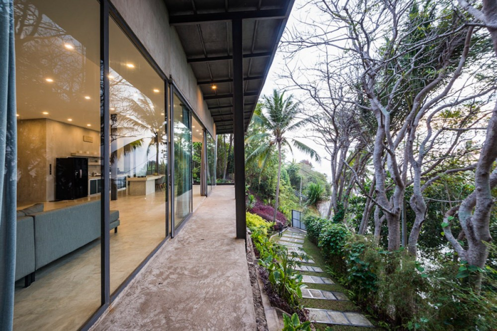 Amazing Modern Minimalist Villa with Ocean View for Sale in Tabanan