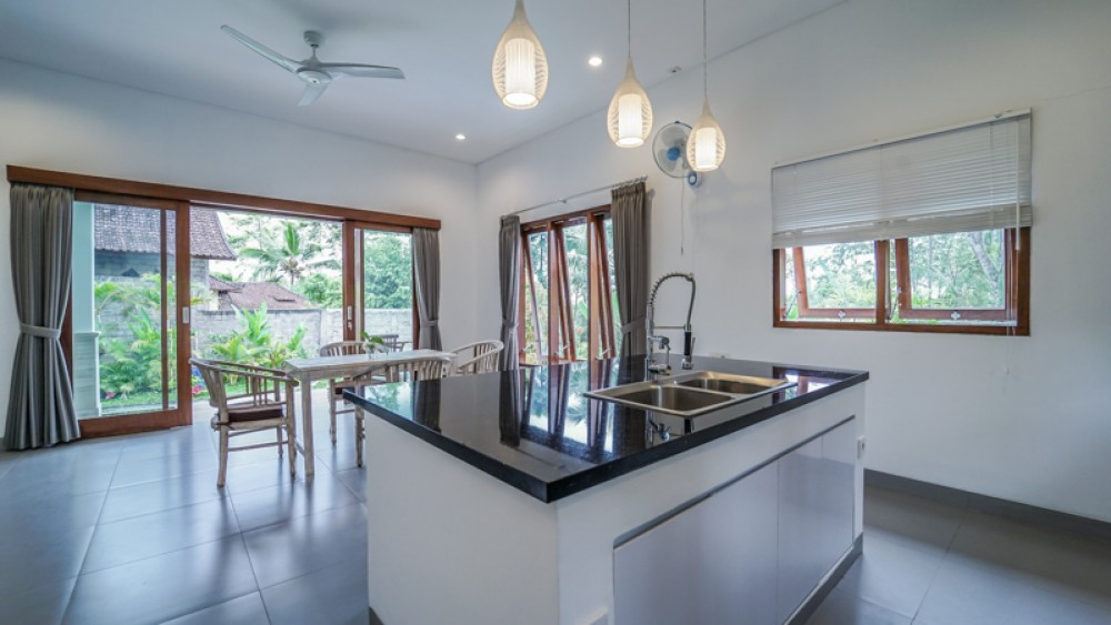 Modern Minimalist Villa with Ocean View for Sale in Jembrana