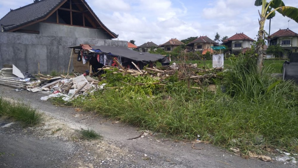 Small Commercial Land for Lease in Pererenan