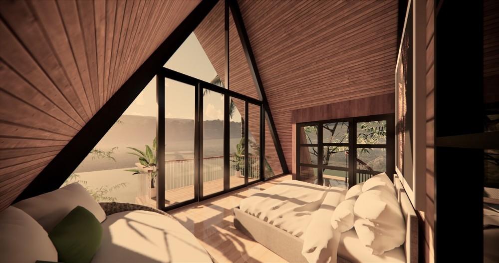 Villa sur plan de Pererenan avec 2 chambres à bail