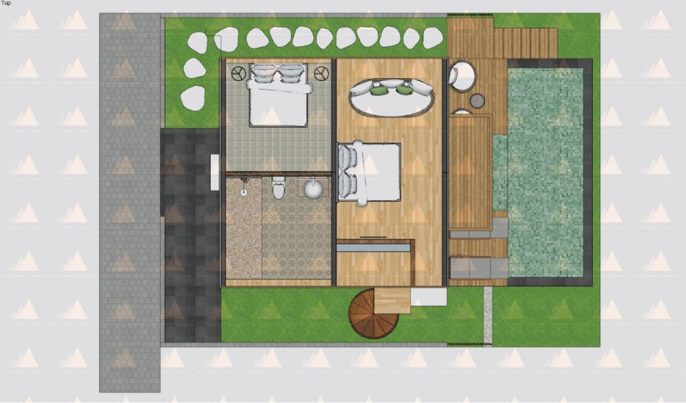 Pererenan 2 Bedroom Leasehold Off-Plan Villa