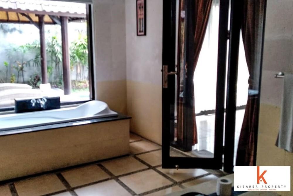 cozy one bedroom villa for rent in umalas