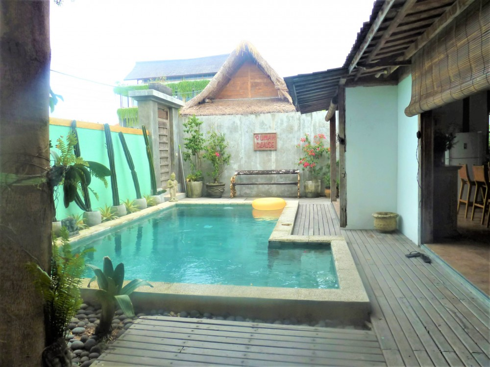 3 Bedrooms Villa with Joglo Style in Batu Bolong