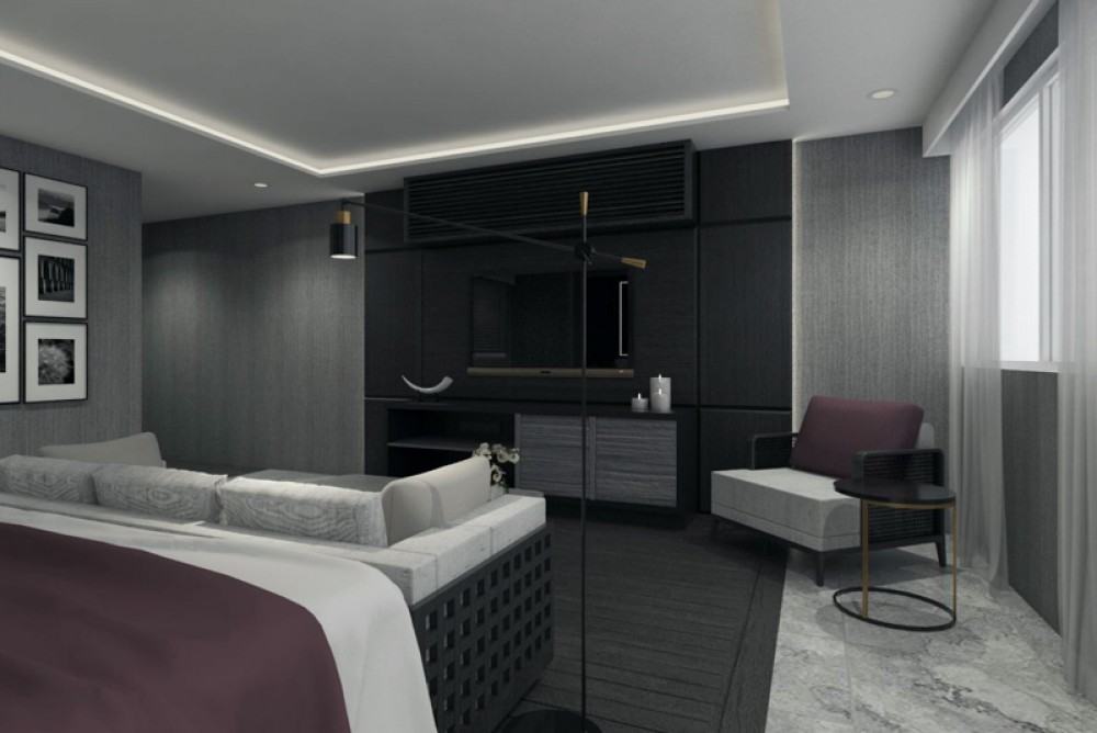 Brand New Two Bedrooms Modern Apartment for Sale in Berawa