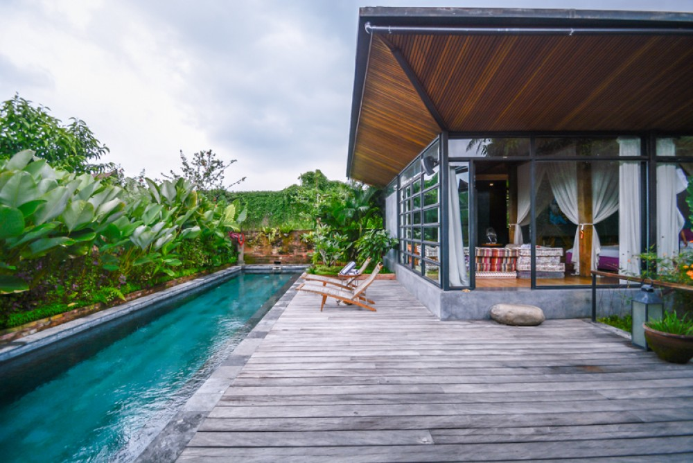 Amazing Riverside Villa with Spacious Land for Sale in Ubud