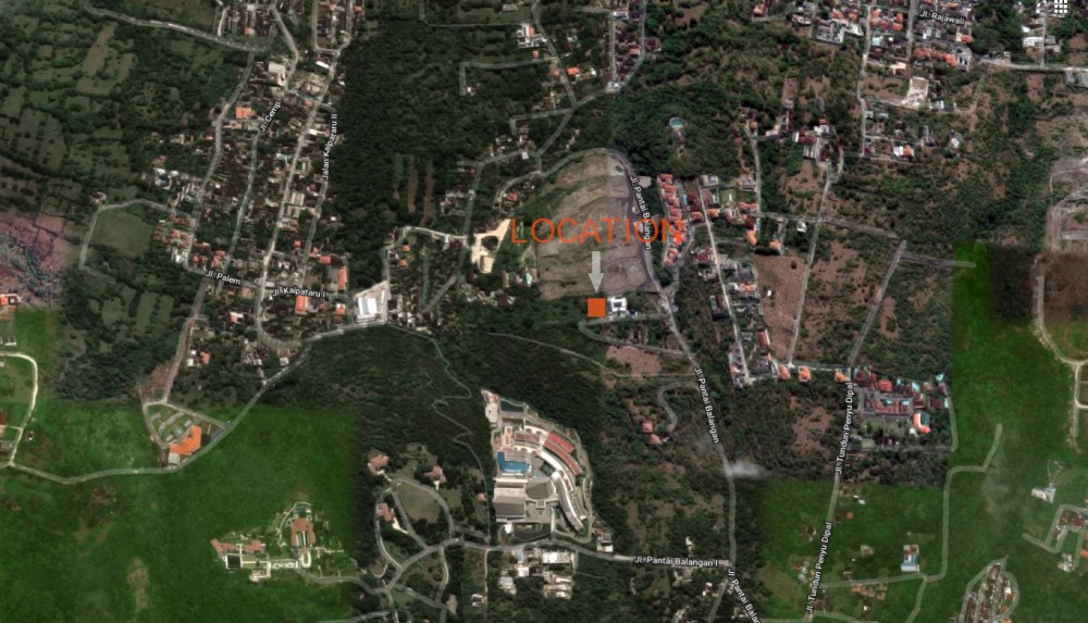 Hill top freehold land for sale in Balangan