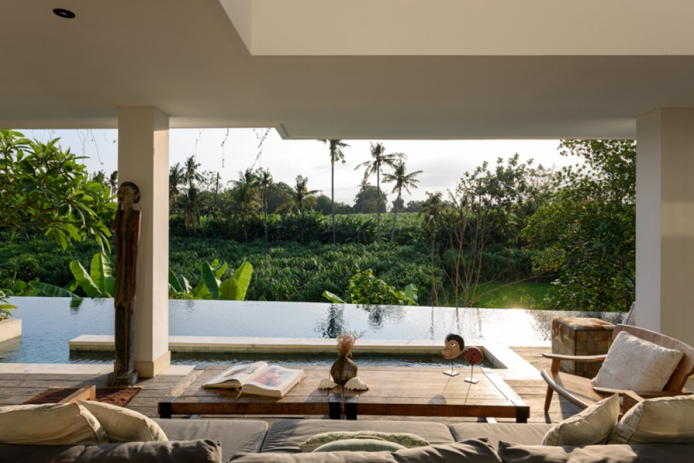 Luxurious Freehold Villa with Rice Paddies View for Sale in Canggu