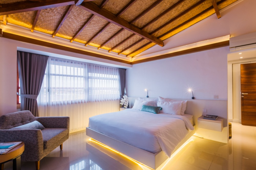 Amazing Ocean View Two Bedrooms Apartment for sale in Seminyak