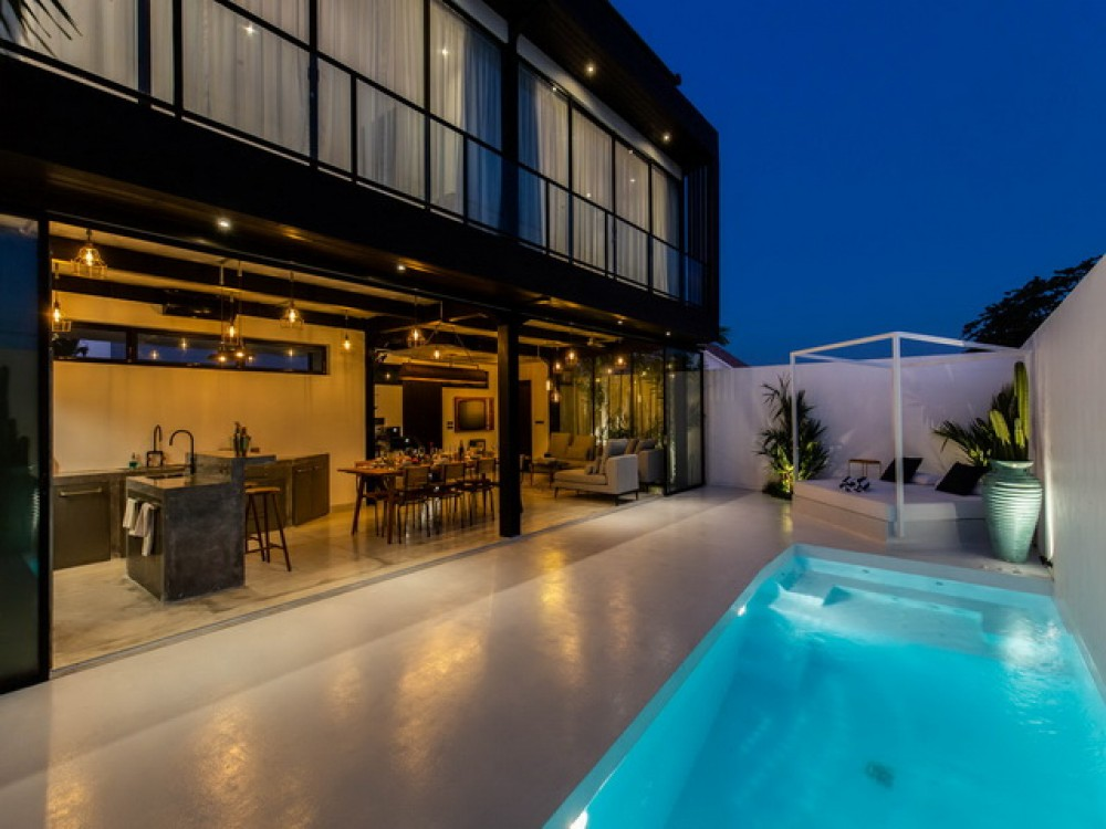 Modern Industrial Long Lease Off Plan Villa in Umalas