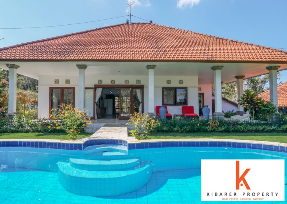 Comfortable Three Bedrooms Villa for Sale in Tabanan