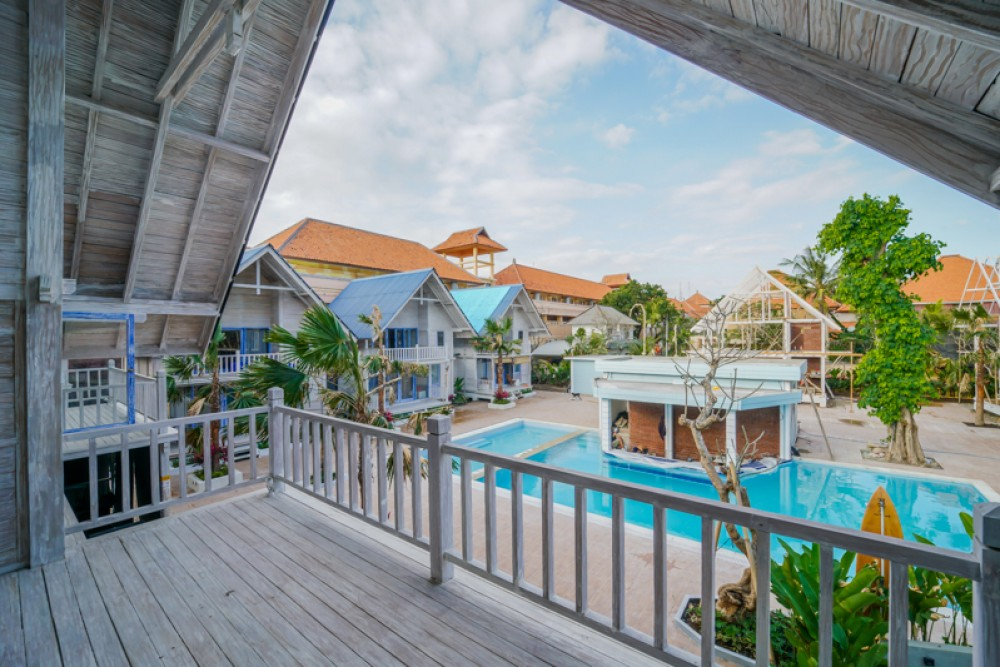 Charming Wooden Villa and Walking Distance to The Beach for Sale in Legian