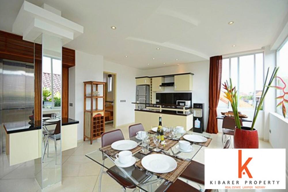 Modern Two Bedrooms Apartment Villa for Sale in Kerobokan
