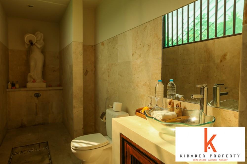 Belle villa entourée de rizières avec un terrain spacieux à vendre à Ubud