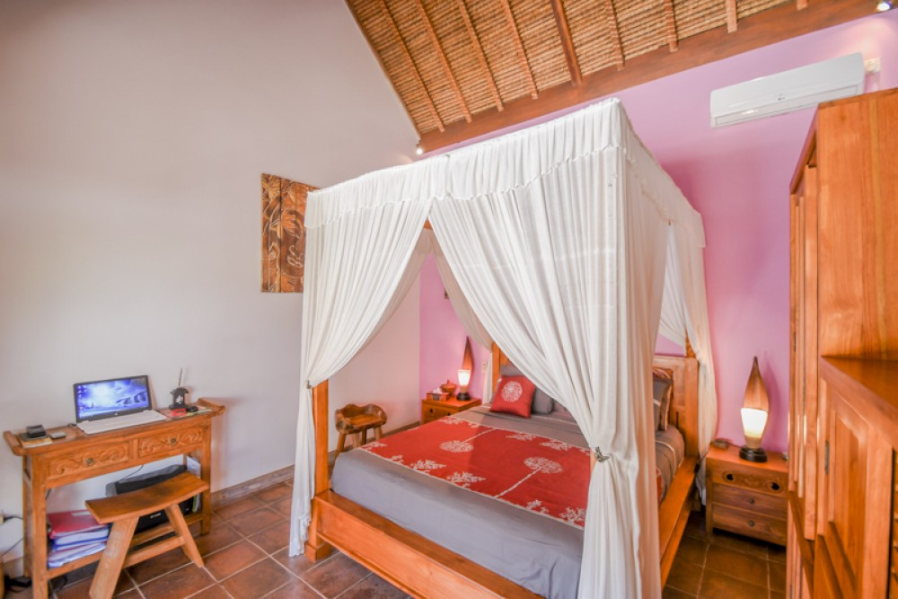 Villa tropicale balinaise de deux chambres à coucher à vendre à Ungasan