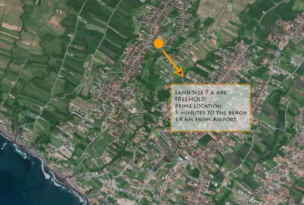 Tanah residensial gratis dijual di Pererenan