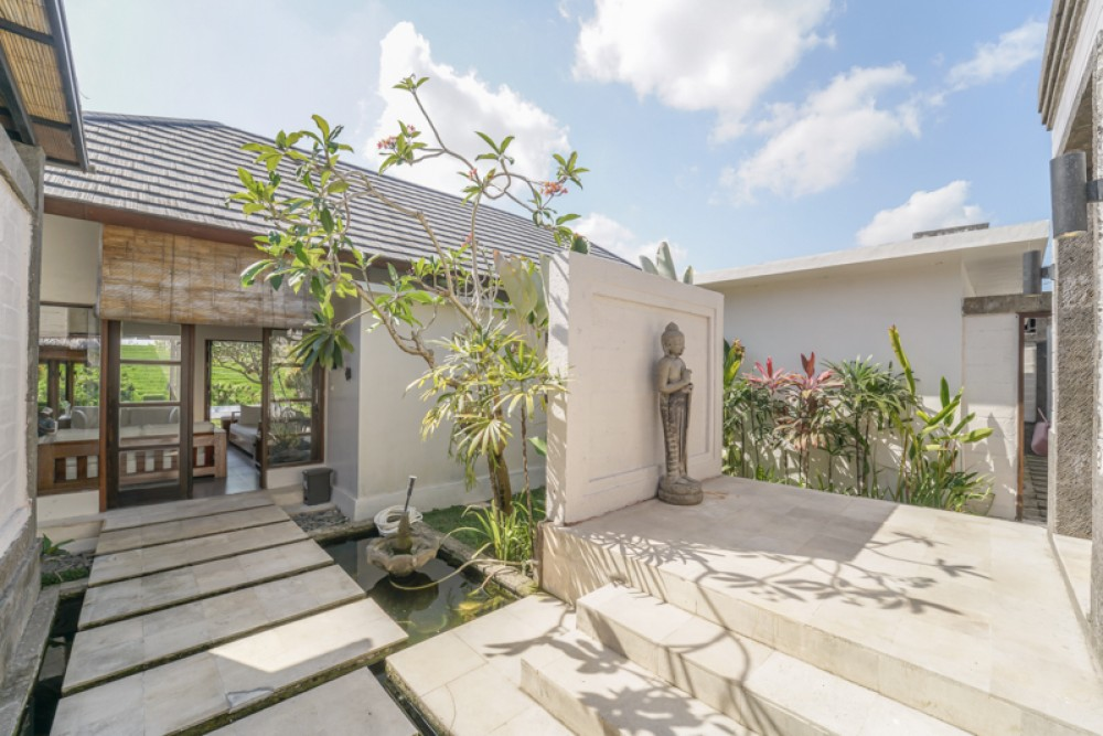 Beautiful Rice Paddies View Villa for Sale in Canggu