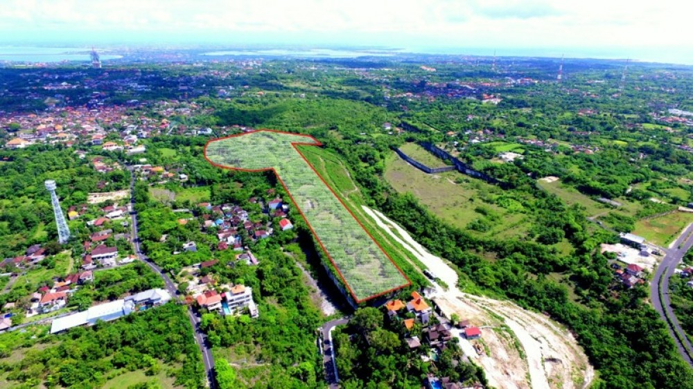 Massive Freehold Land With Uninterrupted Ocean Views For Sale in Ungasan