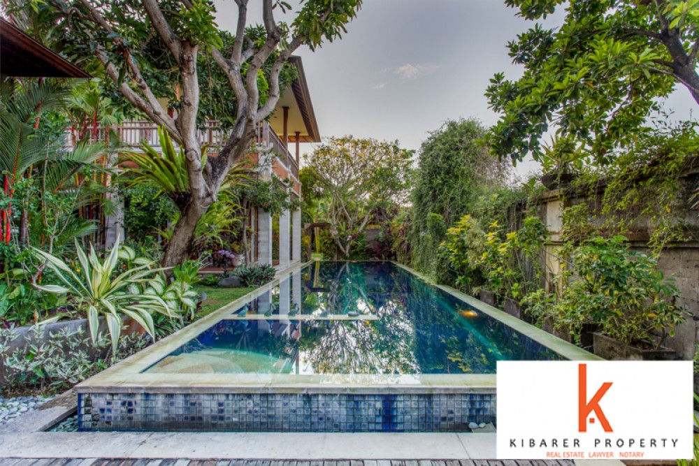 Amazing Rice Paddies View Villa with great ROI for sale in Berawa