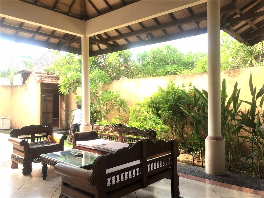 Traditional style villa in Kuta Legian